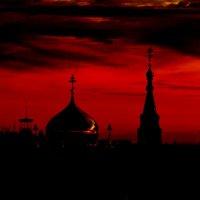 Багровый закат :: Вячеслав Владимирович