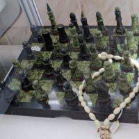 Шахматы из камней :: Вера Щукина