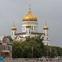 Кафедра́льный собо́рный храм Христа́ Спаси́теля в Москве :: Олег Савин