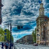 Питер Московский проспект перекресток с Клинским проспектом :: Юрий Плеханов