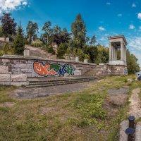 Старая пристань на Москве реке в Серебряном бору :: Борис Гольдберг