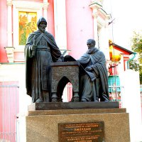 Памятник греческим просветителям. :: Владимир Драгунский
