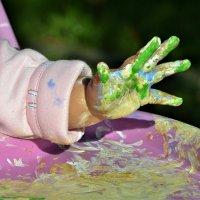 рисовали рисовли,наши пальчики устали... :: Olga Veisman