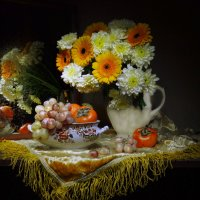 Осенний пряный ветер поутру... :: Валентина Колова