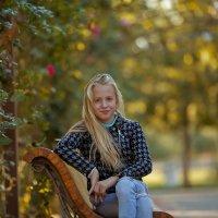 Осень творит красоту красок, а мы ее с Вероникой подчеркиваем :) :: Кристина Беляева