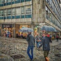 Дождь в Братиславе-4 :: Gene Brumer