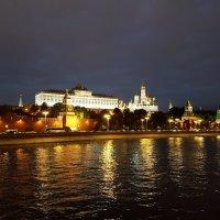 Прогулка по вечерней Москве :: Ольга Русанова (olg-rusanowa2010)