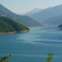 Жинвальское водохранилище :: Наталья (D.Nat@lia) Джикидзе (Берёзина)