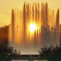 Фонтан и солнце :: Владимир Гилясев