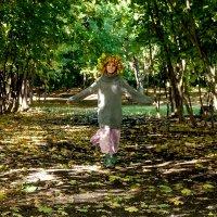 Наперегонки с листьями :: Albina