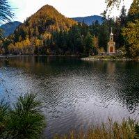 Озеро Изумрудное на реке Снежная. :: Rafael