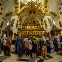 Служба в Святогорской Лавре. :: isanit Sergey Breus
