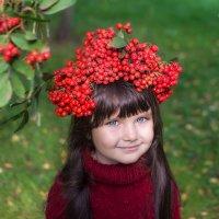 В рябиновом парке :: Анастасия Исайкина