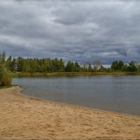 Осенний пляж :: Андрей Дворников