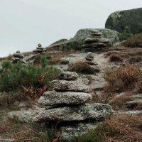 Ергаки  турики у висячего камня :: Юлия Маркелова