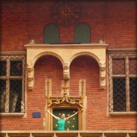 Часы Ягеллонского университета в Кракове :: Galina Belugina