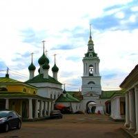 КОСТРОМА В АКВАРЕЛИ :: Анатолий Восточный