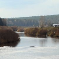 река Усолка ,Красноярский край :: Alla Swan