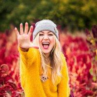 Осень в цвете марсала :: Оксана Солопова