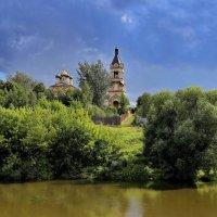 Церковь Воскресения Словущего в селе Колычёво :: Евгений Голубев