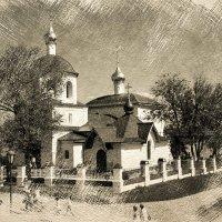Храм святых равноапостольных царя Константина и матери его Елены :: Андрей Головкин