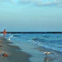 The Box - пляж эмоций. Там дяди тётенек снимали на закате... :: Александр Резуненко