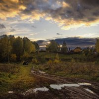 Осенний вечер после дождей :: Владимир Макаров