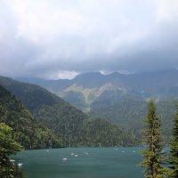 Красота озера Рицы :: Татьяна Коблова