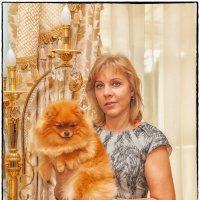 Дама с собачкой :: Leo Alex Photographer