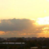 Небо октября :: Татьяна Ломтева