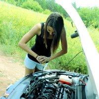 женщина и автомобиль)) :: Евгешка Храмова