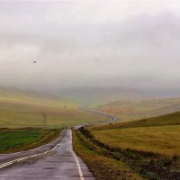 Сырая погода, мокрая дорога :: Сергей Чиняев