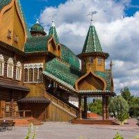 Деревянный дворец царя Алексея Михайловича. :: Владимир Безбородов