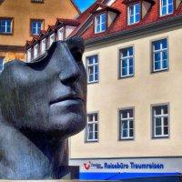 Скульптура головы в Бамберге.Бавария. :: Лара ***