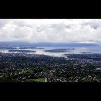 Вид на Осло и Осло-фьорд (фрагмент панорамы) :: Alex Sash