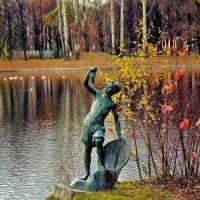 Парк Победы после Золотой осени... :: Sergey Gordoff