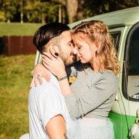 Love Story с ретро авто! :: Павел Качанов