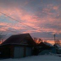 Рассвет на нашей улице :: Kseniya Merkulova