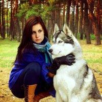 Дама с собачкой :: Александра Кучерявых