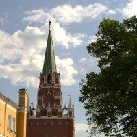 Средняя Арсенальная башня Московского Кремля :: Алексей Ефимов