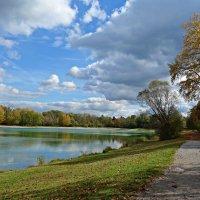 Волшебная осень рисует картины... :: Galina Dzubina