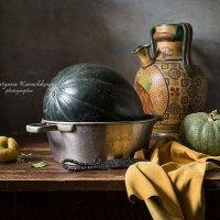 Купание зелёного арбуза :: Татьяна Карачкова