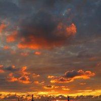 В порту на закате :: valeriy khlopunov