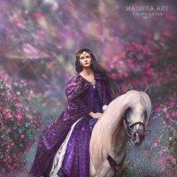 """Magical forest""-""Волшебный лес"" :: Malinka Art Galina Kazan"