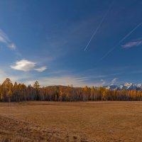В Тункинской долине осень :: Анатолий Иргл