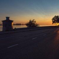 Северный закат. :: Алена Малыгина