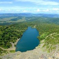 Горный Алтай, вид с горы Красной :: Юрий Белоусов