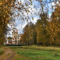 Вид на усадьбу Храповицкого поселок Муромцево :: АЛЕКСАНДР СУВОРОВ