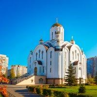 Храм во имя блаженной Ксении Петербургской :: Oleg Akulinushkin