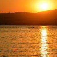закат на море :: Светлана Рос